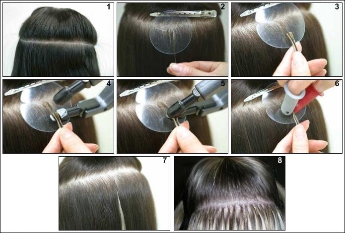 Retirer la keratine des cheveux